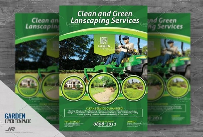 Landscaping Services Flyer Template