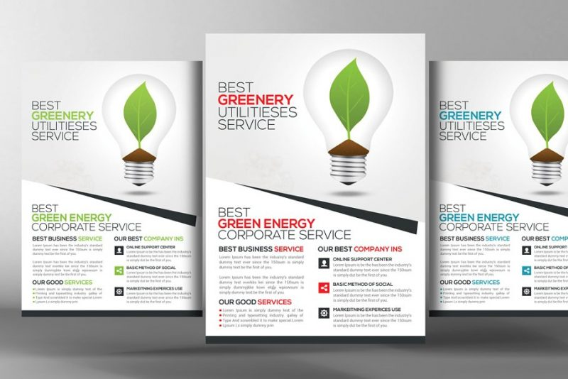 Landscaping Services Flyers