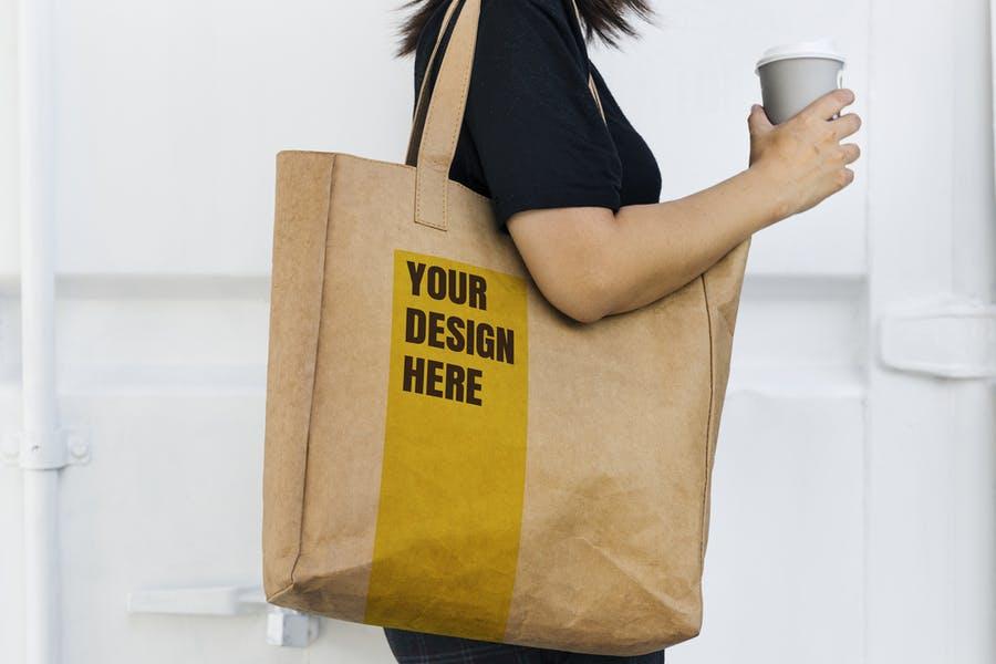 Large Bag Mockups PSD