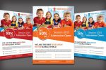 22+ Best School Flyers Template PSD and AI