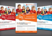 Layered School Flyer Templates