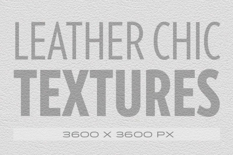 Leather Chic Texture Backgrounds