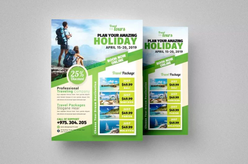 Letter Size Travel Flyer
