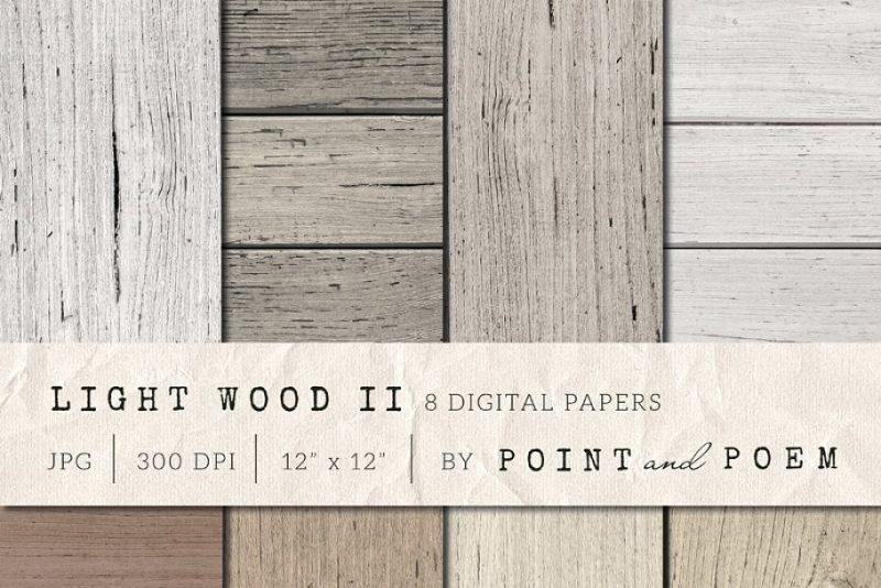 Light Wood Texture Pack