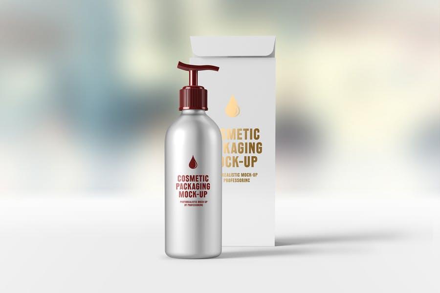Liquid Soap Branding Mockup