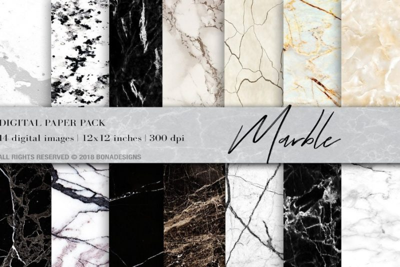 Marble Digital Paper Background