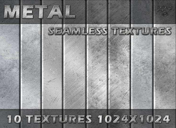 Metal Seamless Textures