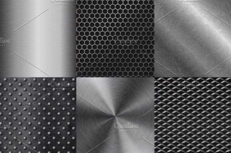 Metallic Pattern Vectors