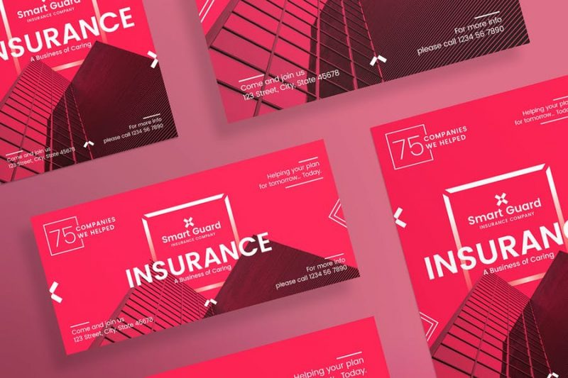 Minimal Insurance Flyer Template