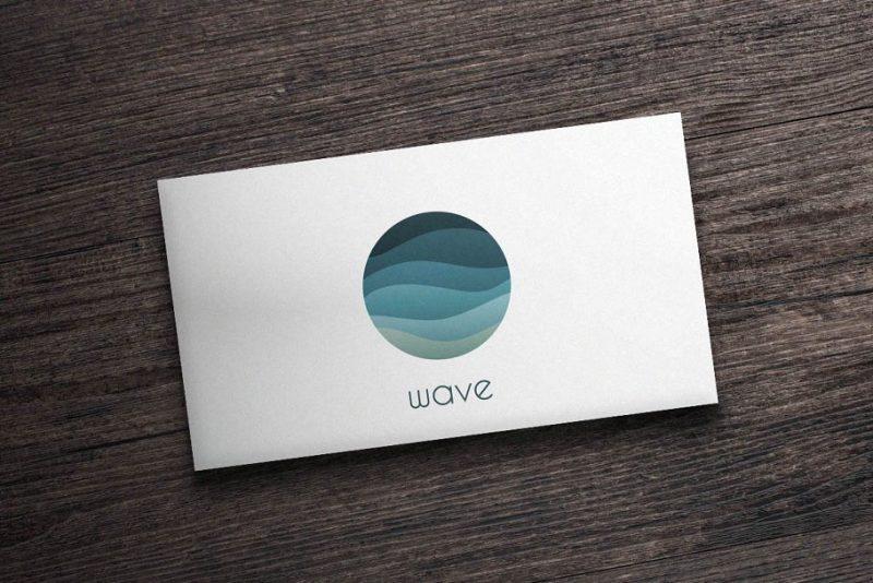 Minimal Wave Logo Design