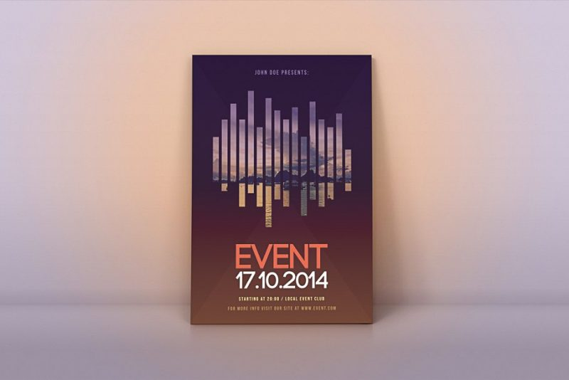 Music Events Flyer Template