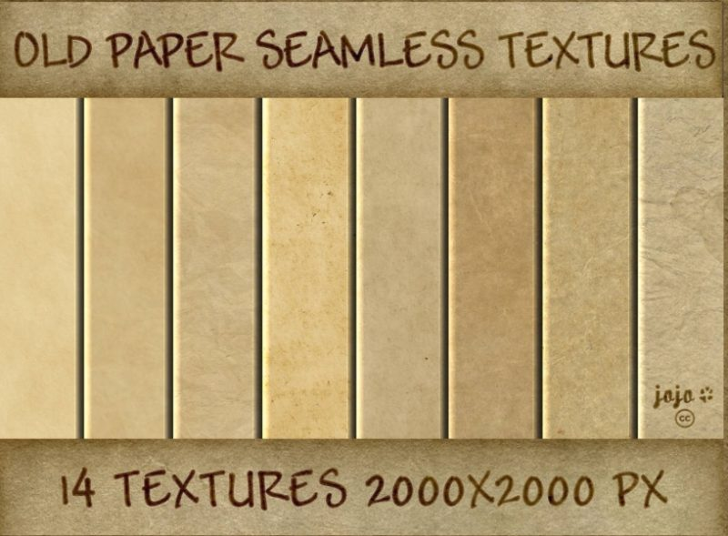 Old Paper Seamless Textures Pack