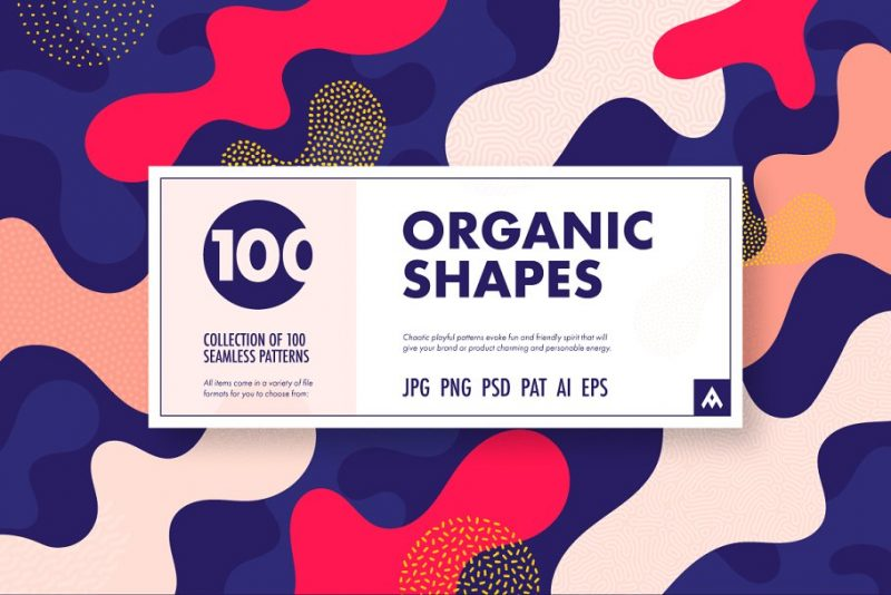 Organic Shapes Textures Pack