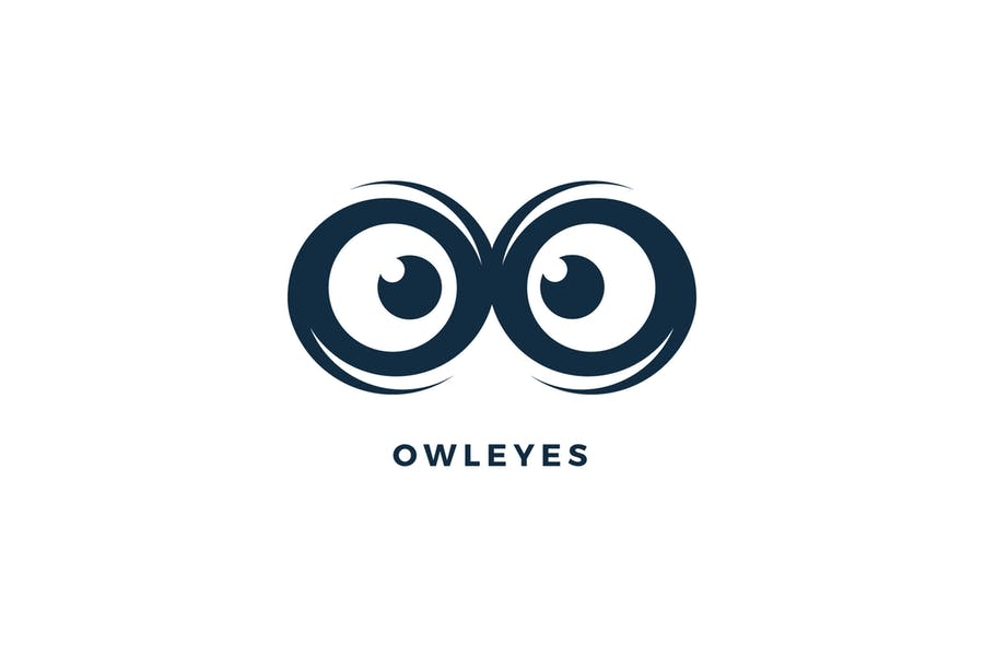 Owl Eyes Logo Design