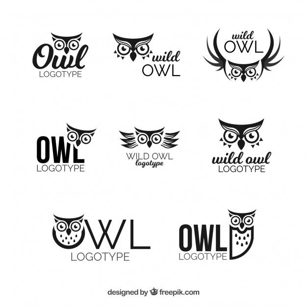 Owl Logo Set Free Download