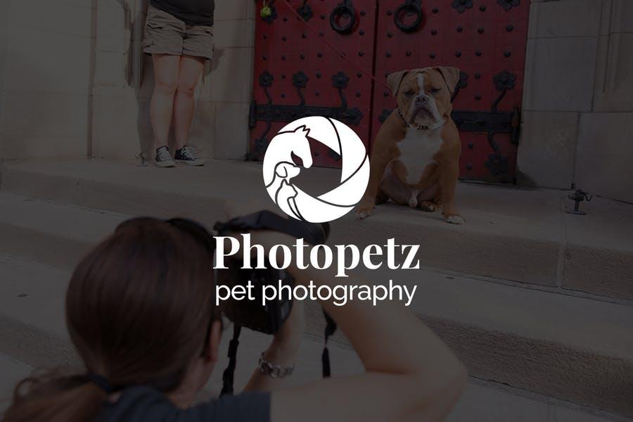 Pet Photography Logo Idea