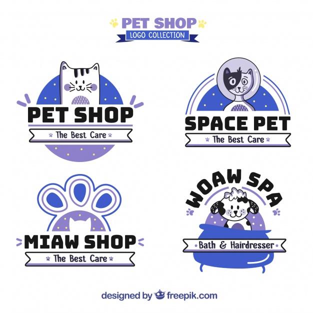 Pet Shop Logo Collection