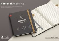 Photo Realistic Leather Book Mockups