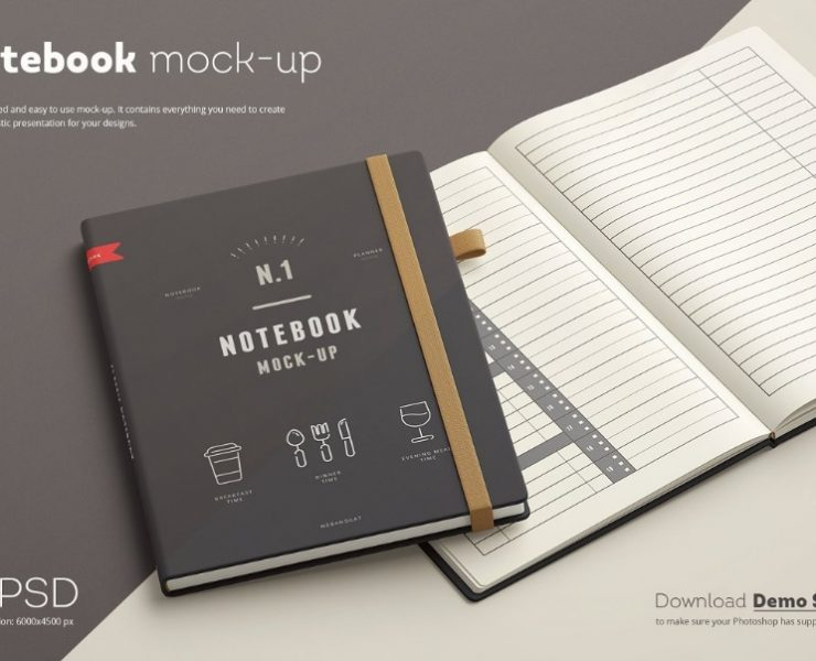 8+ Best Leather Book Mockups PSD