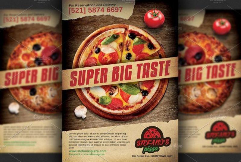 Pizza Restaurant Flyers