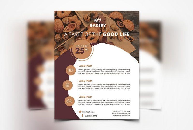Print Ready Bakery Flyer