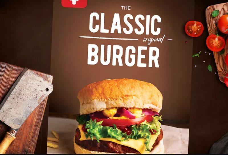 Print Ready Burger Flyer