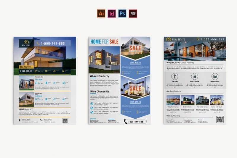 Print Ready Real Estate Flyers