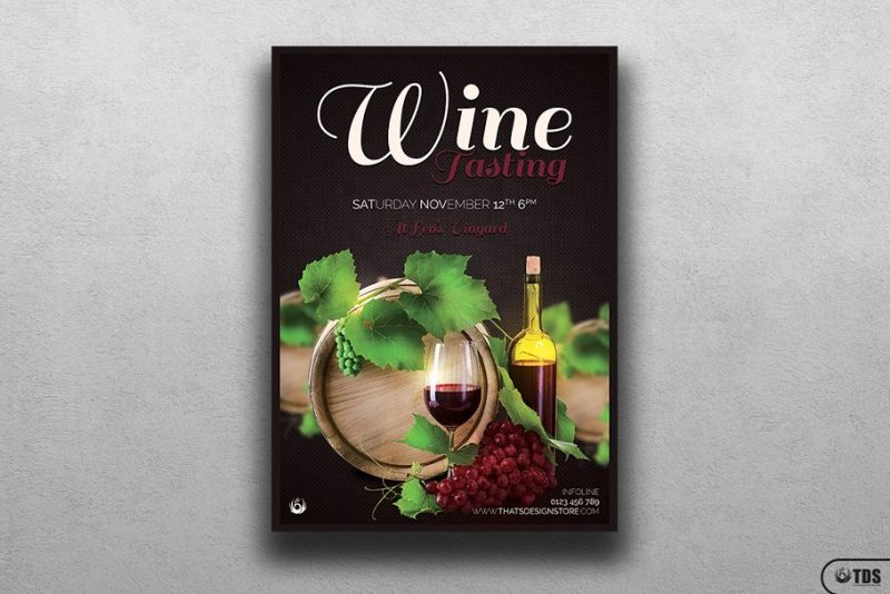 Print Ready Wine Flyers