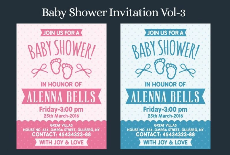 Printable Baby Shower Templates