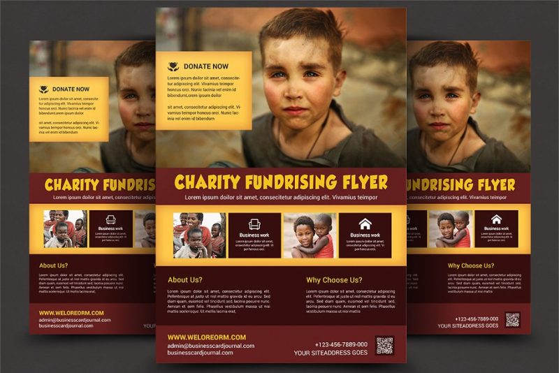Professional Charity Flyer Template