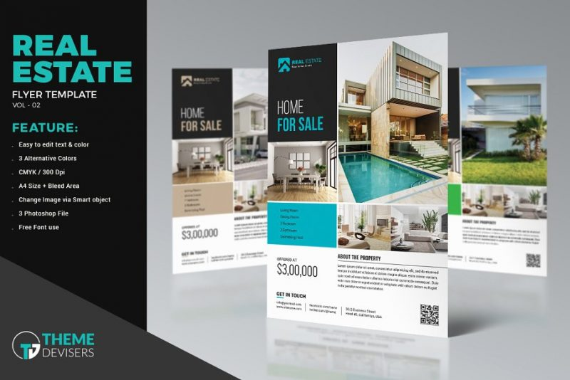 Property Sales Flyer Template