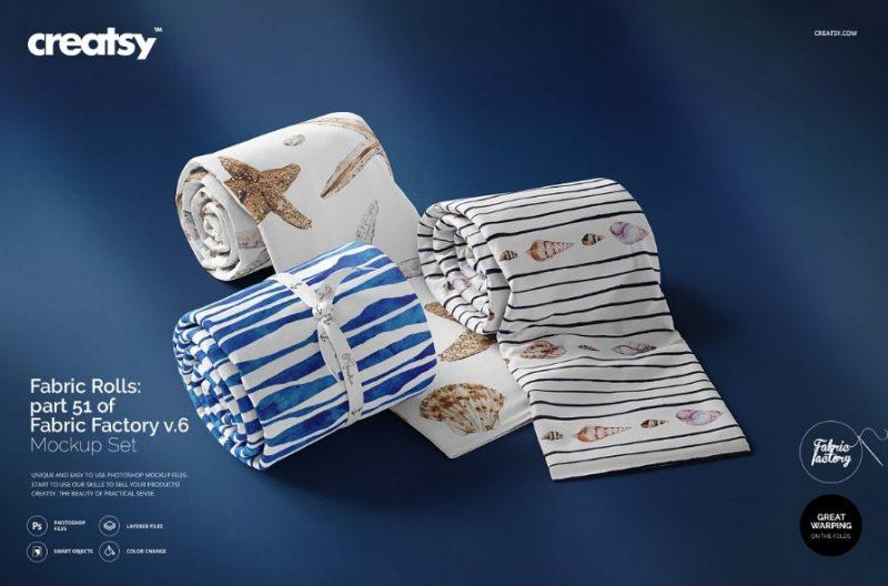 11+ Fabric Mockup PSD for Apparel Design Presentation