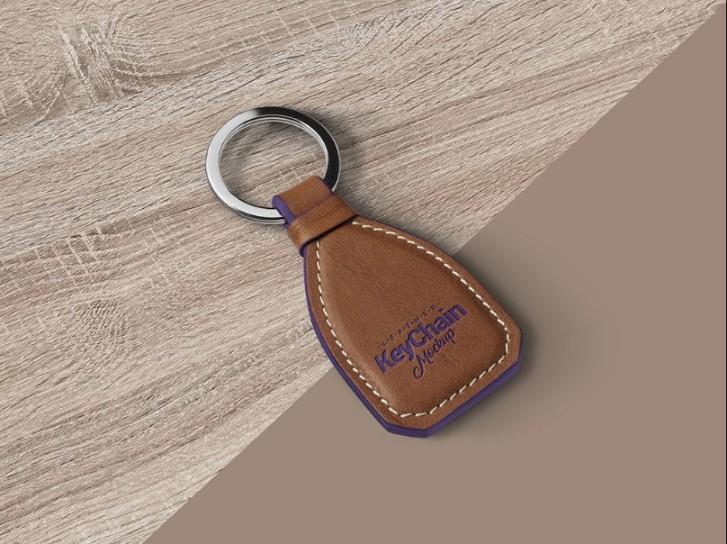 Realistic Keychain Mockup PSD