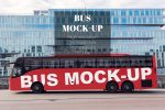 11+ Bus Mockup PSD for Branding and AD