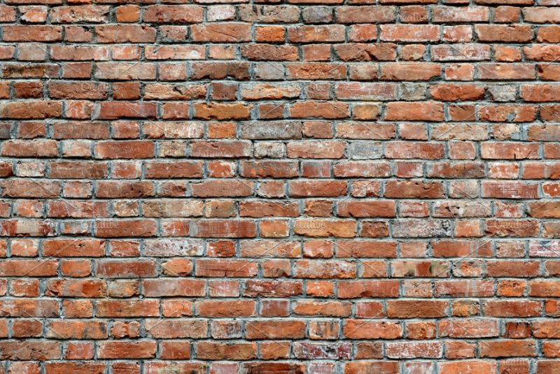 Red Brick Wall Texture PNG