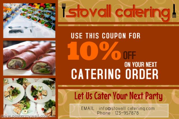 Restaurant Catering Flyer Template