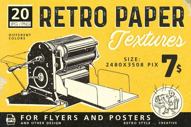 Retro Paper Textures