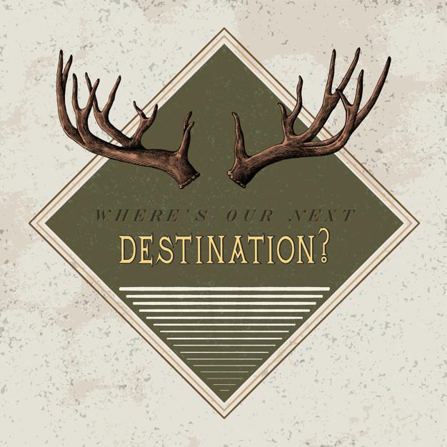 Retro Travel Logo Design