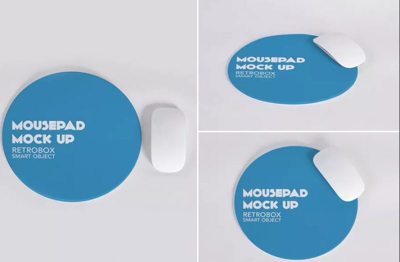 Retrobox Mouse Pad Mockup