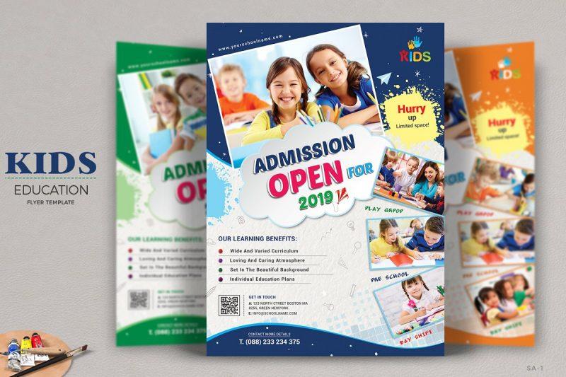 School Promotions Flyer