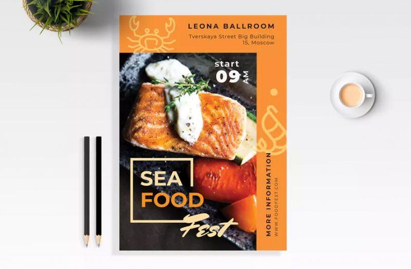 Sea Food Festival Flyer