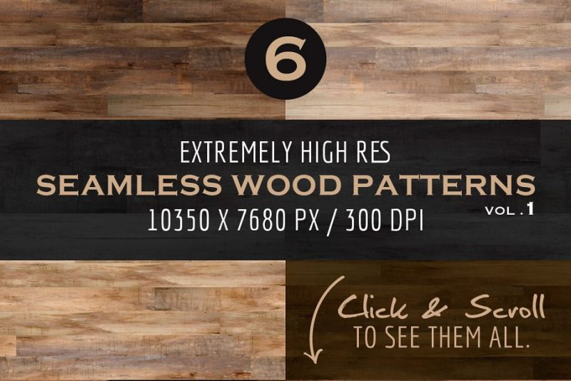 Seamless Wood Background Textures