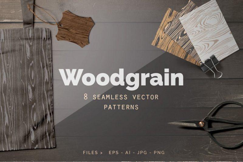 Seamless Wood Grain Textures