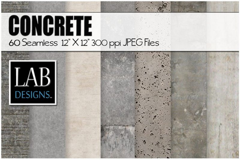 Seamless Concrete Textures Pack