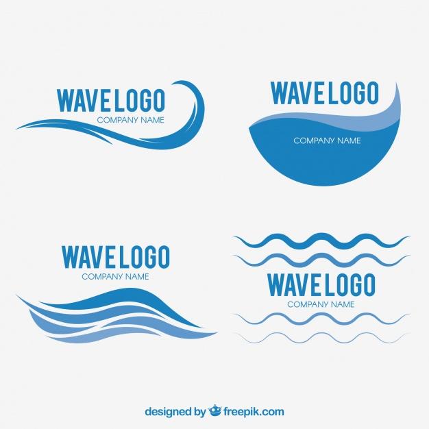 Set of Waves Logo Design