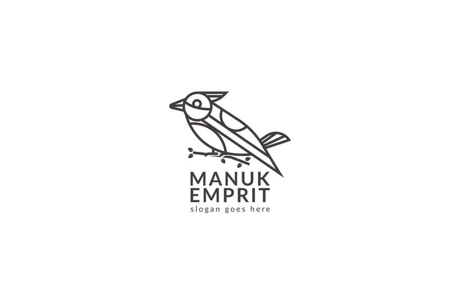 Simple Bird Branding Design