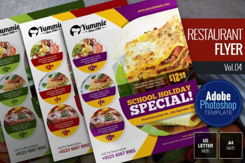 21+ BEST Restaurant Flyers Template PSD, Ai and EPS