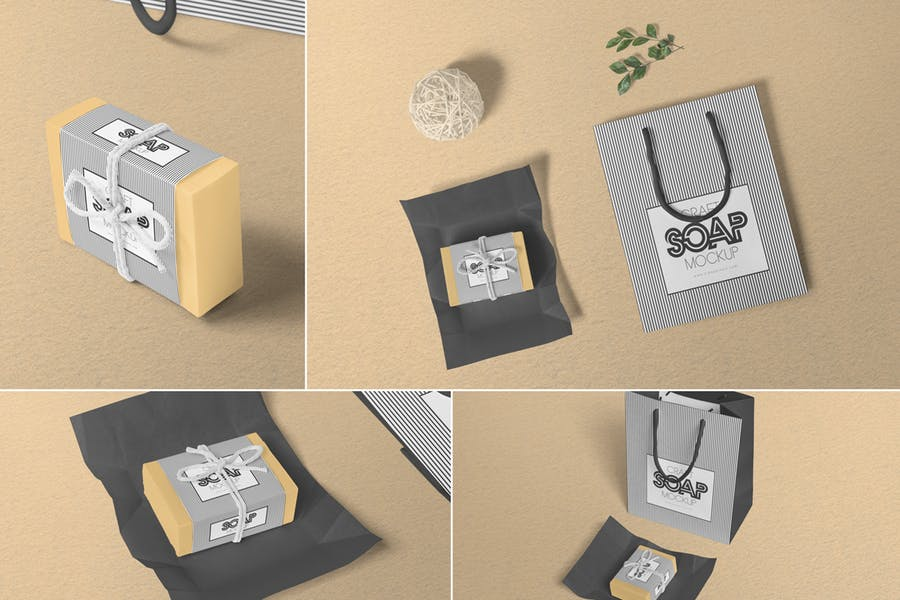 Soap Craft Box Mockups