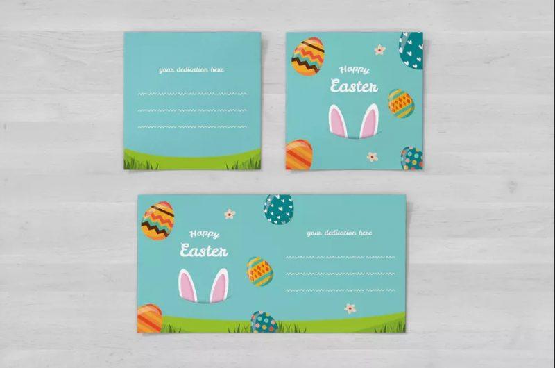 Square Easter Invite Template