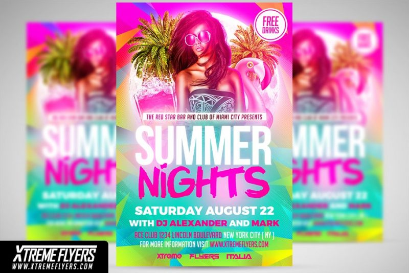 Summer Nights Flyers